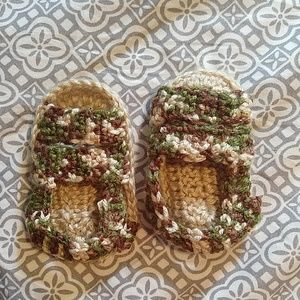 Other - Crochet Camouflage Baby Sandals Shoes Slippers